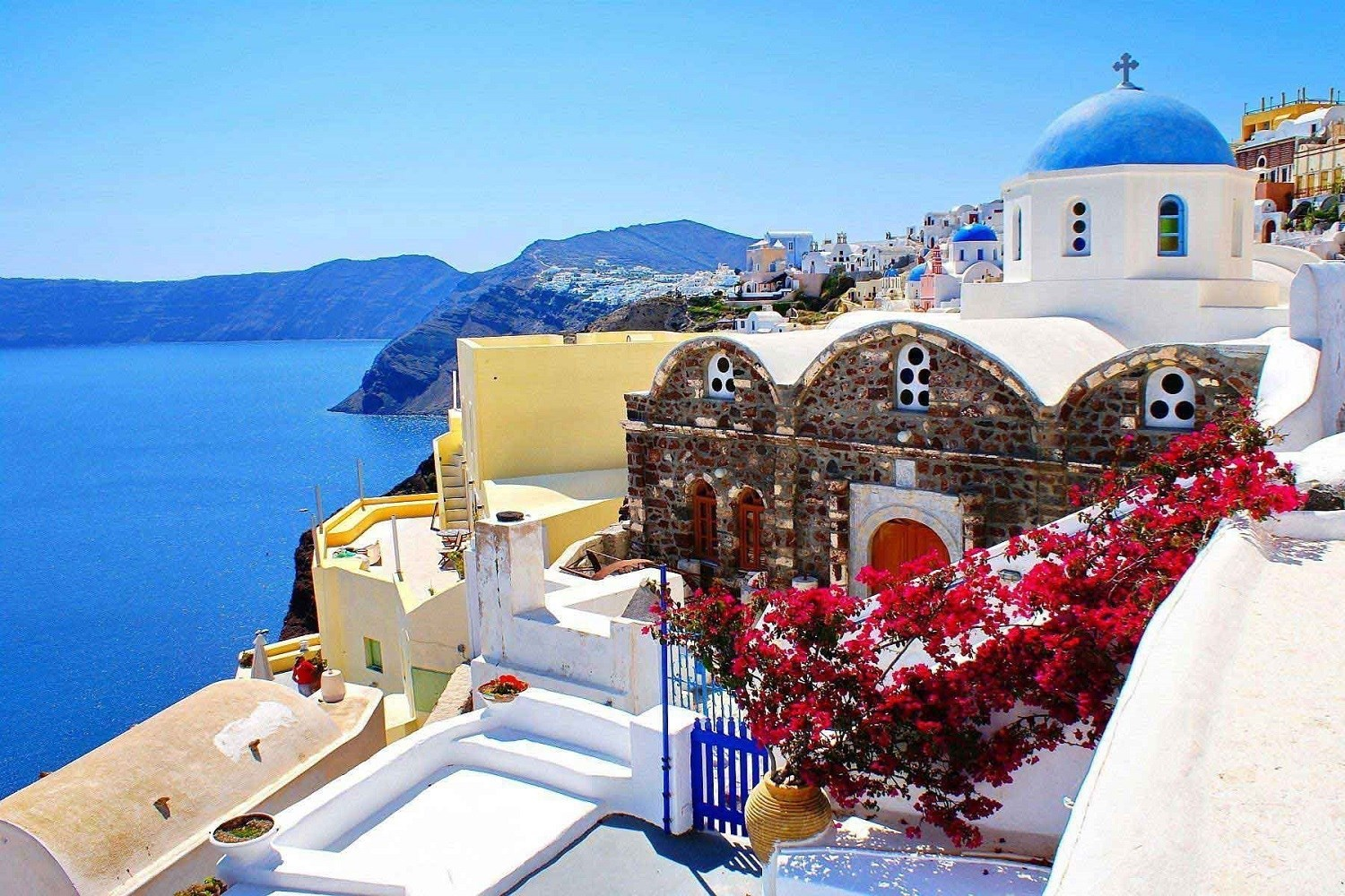 Santorini Travel Packages From India