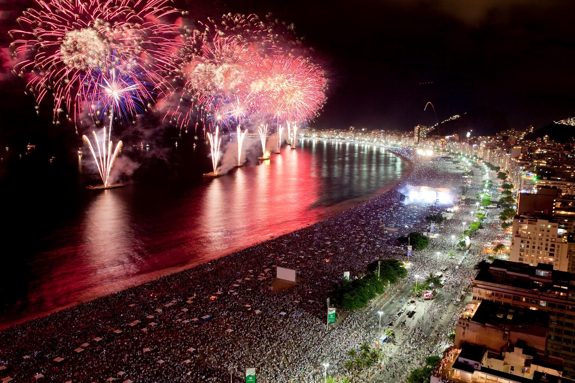Travel To Copacabana Rio de Janeiro Brazil New Year| Travel